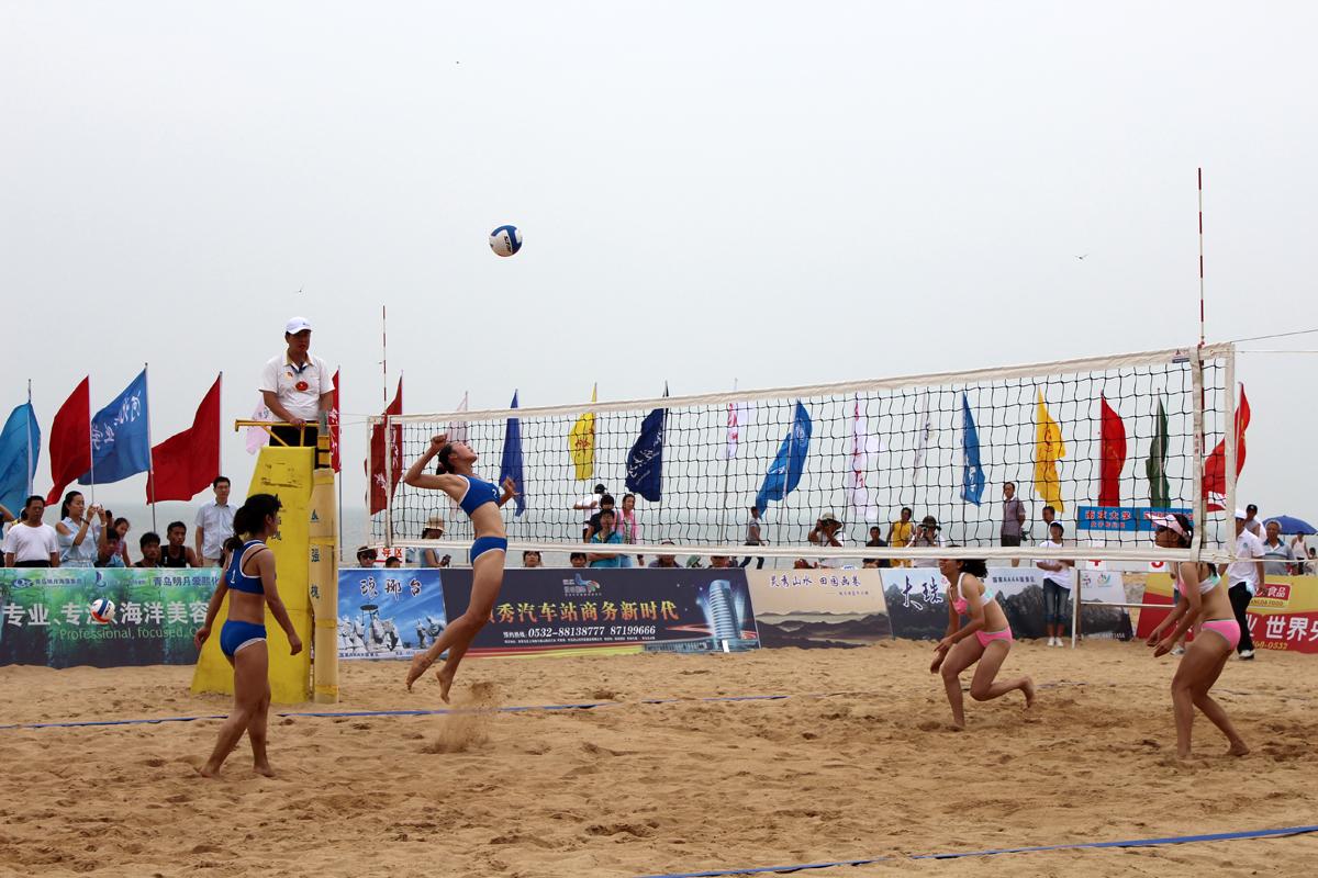 第三届亚洲大学生沙滩排球锦标赛--青岛黄岛发展(集团